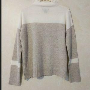 100% Cashmere Mock Neck Sweater